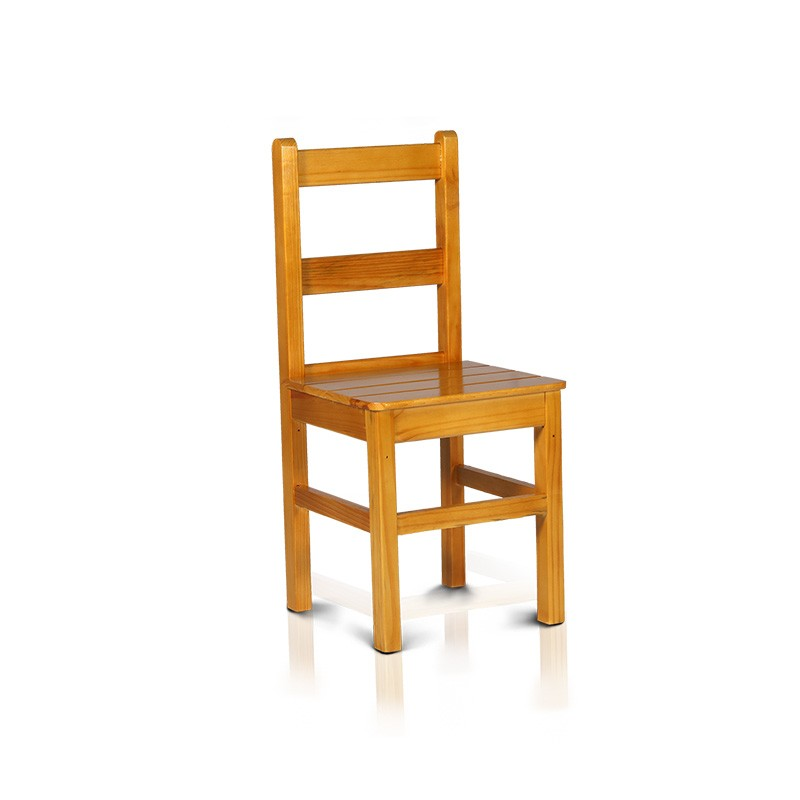 Cadeira com encosto baixo - Cerejeira