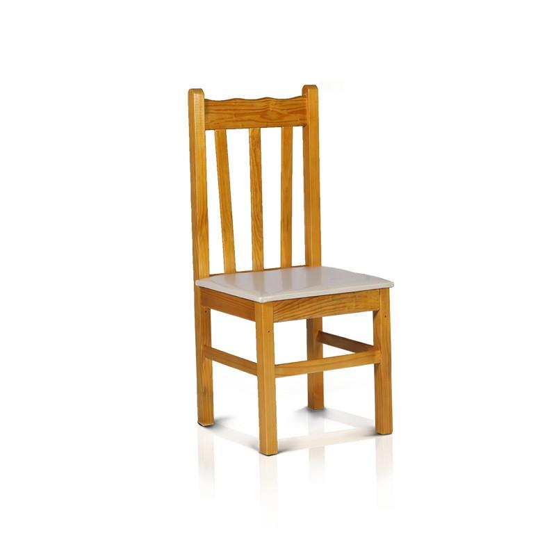 Cadeira estofada - Cerejeira