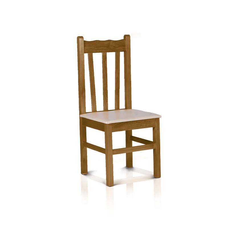Cadeira estofada - Imbuia